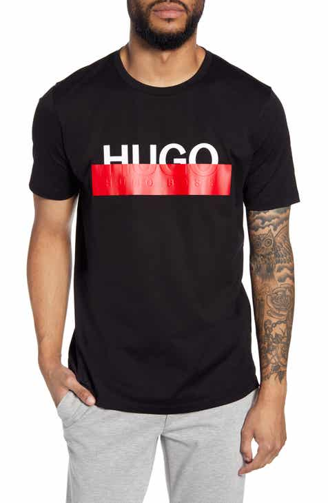 HUGO Dolive193 Redacted Logo T-Shirt