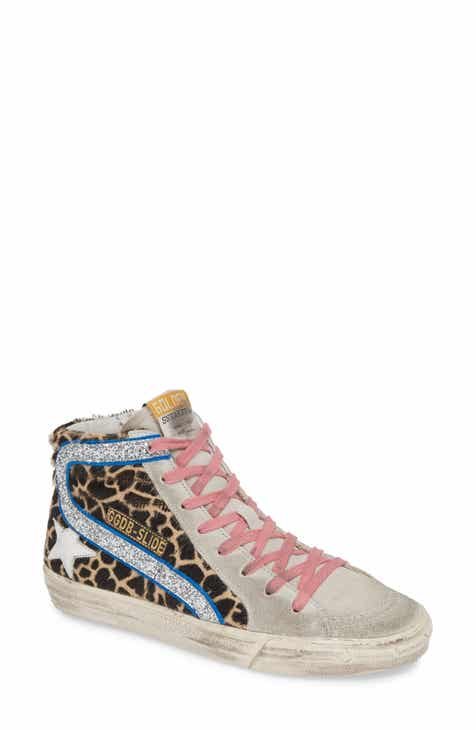 3b4bccd1e73 Golden Goose Genuine Calf Hair Hidden Wedge Sneaker (Women)