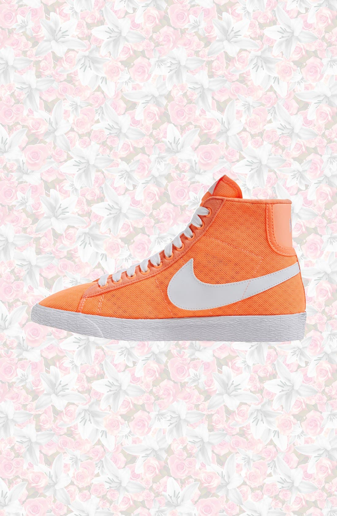 Alternate Image 2  - Nike 'Blazer' Vintage High Top Mesh Sneaker (Women)