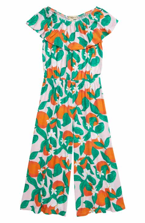 b1ba94fe Tucker + Tate Take Me to the Beach Jumpsuit (Toddler Girls, Little Girls &  Big Girls)