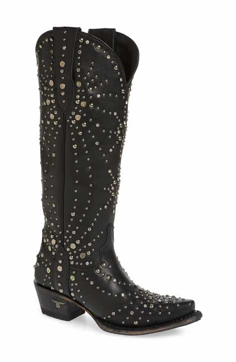 03e01ba8ddf LANE BOOTS Sparks Fly Studded Western Boot (Women)