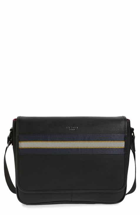 133d55152 Ted Baker London Tabec Faux Leather Messenger Bag