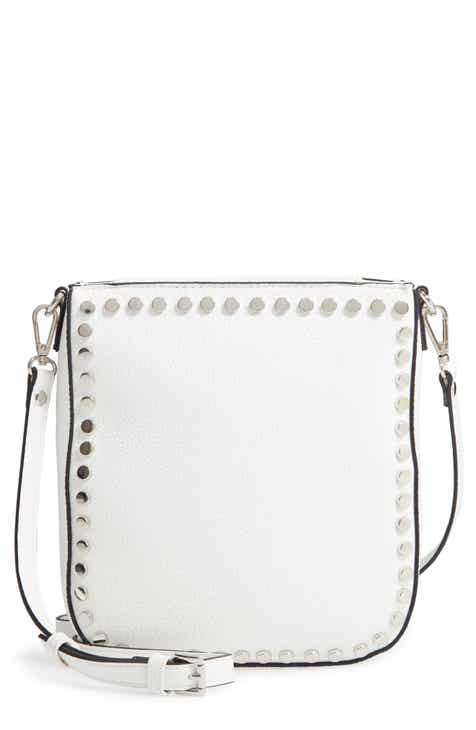 57f3e6ea69 Steve Madden Studded Faux Leather Crossbody