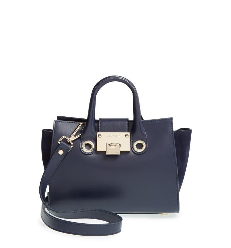 Jimmy Choo 'Mini Riley' Leather Crossbody Bag | Nordstrom