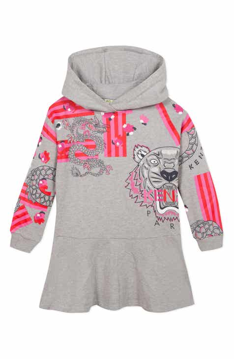 92f00f0c59 KENZO Graphic Hooded Sweatshirt Dress (Toddler Girls, Little Girls & Big  Girls)