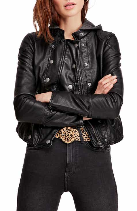 6ae5495ea Women's Leather & Faux Leather Coats & Jackets | Nordstrom