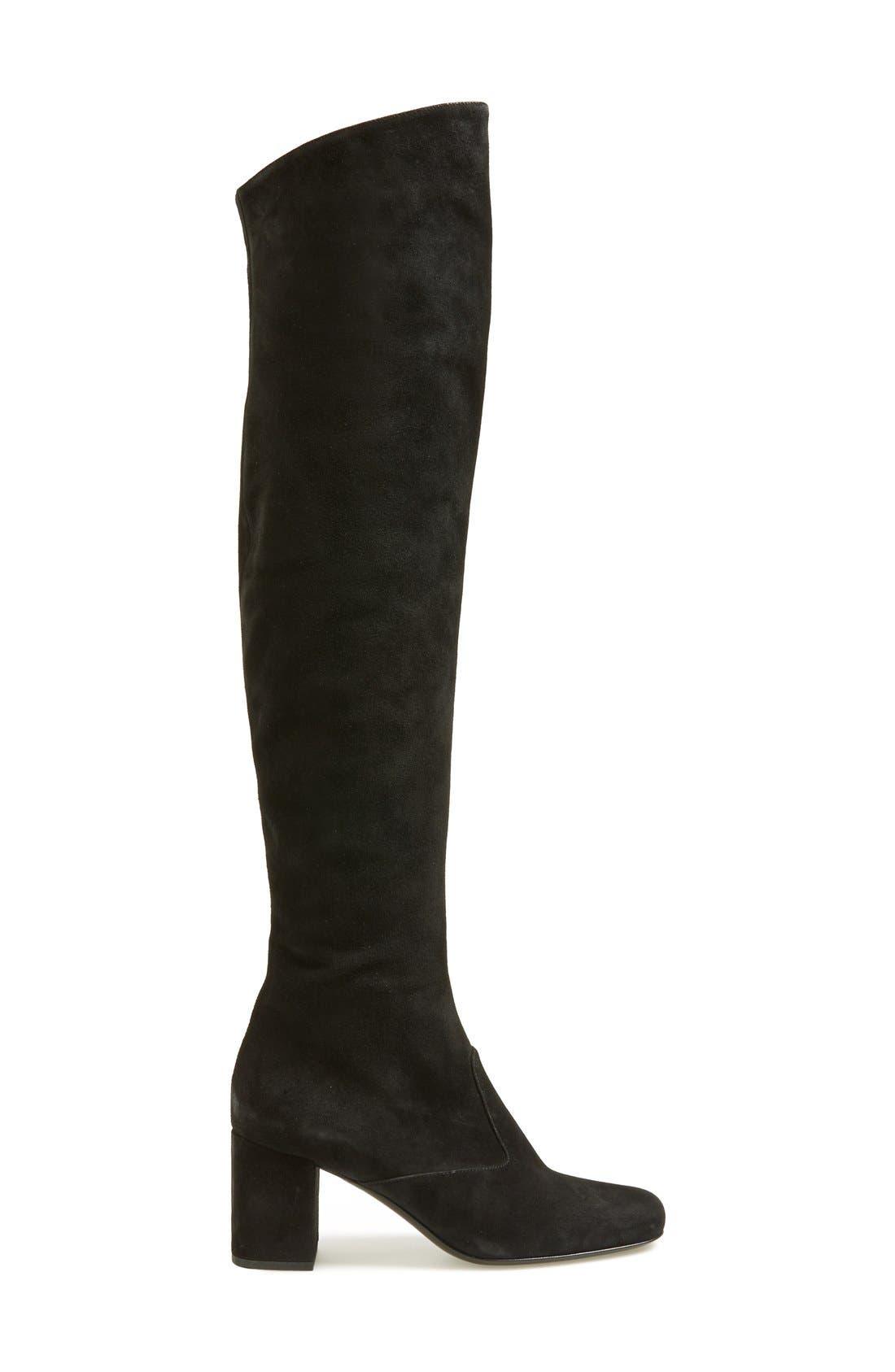 Alternate Image 4  - Saint Laurent 'Babies' Over the Knee Boot (Women)