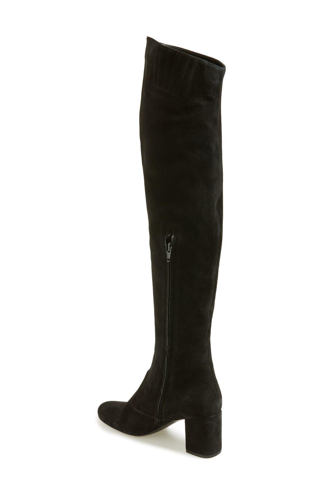 Alternate Image 2  - Saint Laurent 'Babies' Over the Knee Boot (Women)