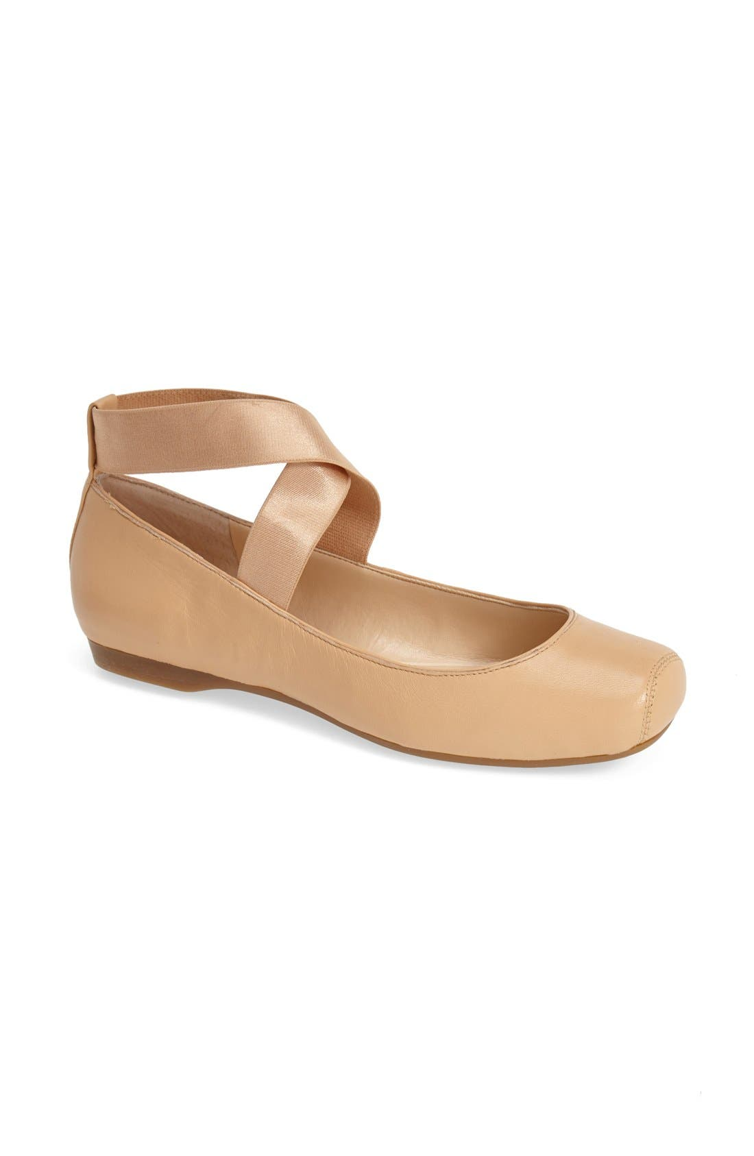 Main Image - Jessica Simpson 'Mandalaye' Leather Flat