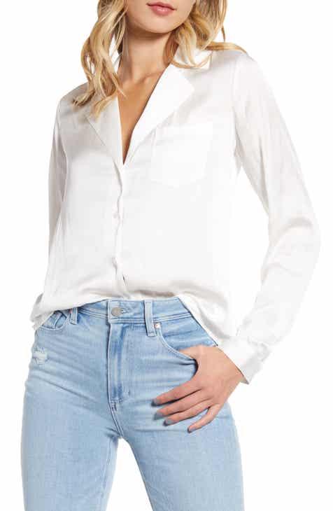 Sale PAIGE Caprice Satin Shirt