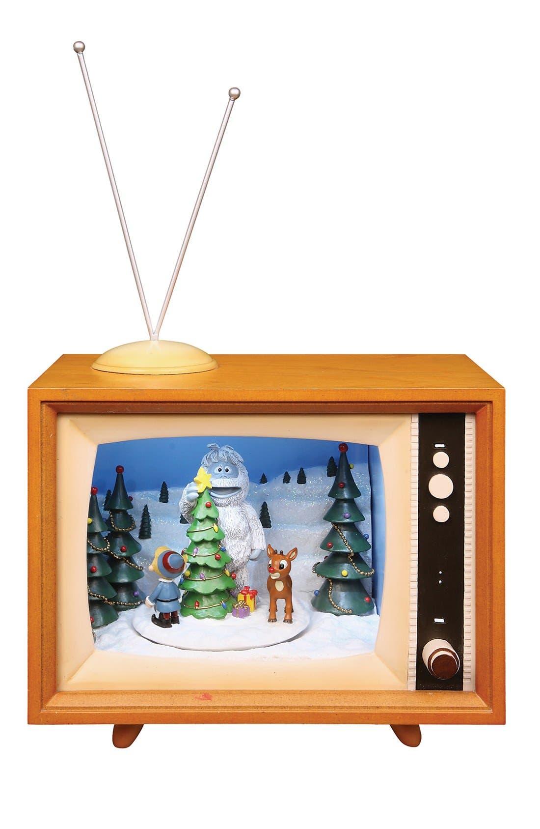 'Rudolph' Musical TV Decoration,                             Main thumbnail 1, color,                             Multi