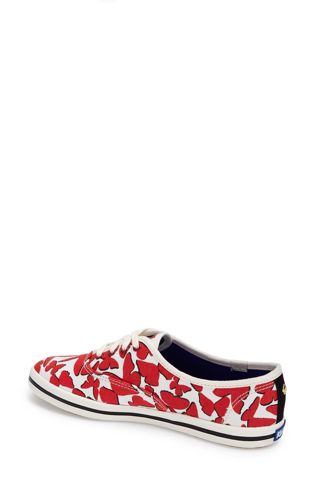 Alternate Image 2  - Keds® for kate spade new york 'kick' sneaker (Women)