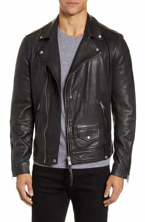 official photos 56b55 dbdaf Men's Leather (Genuine) Coats & Jackets | Nordstrom