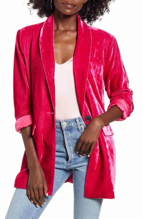 Endless Rose Velvet Blazer