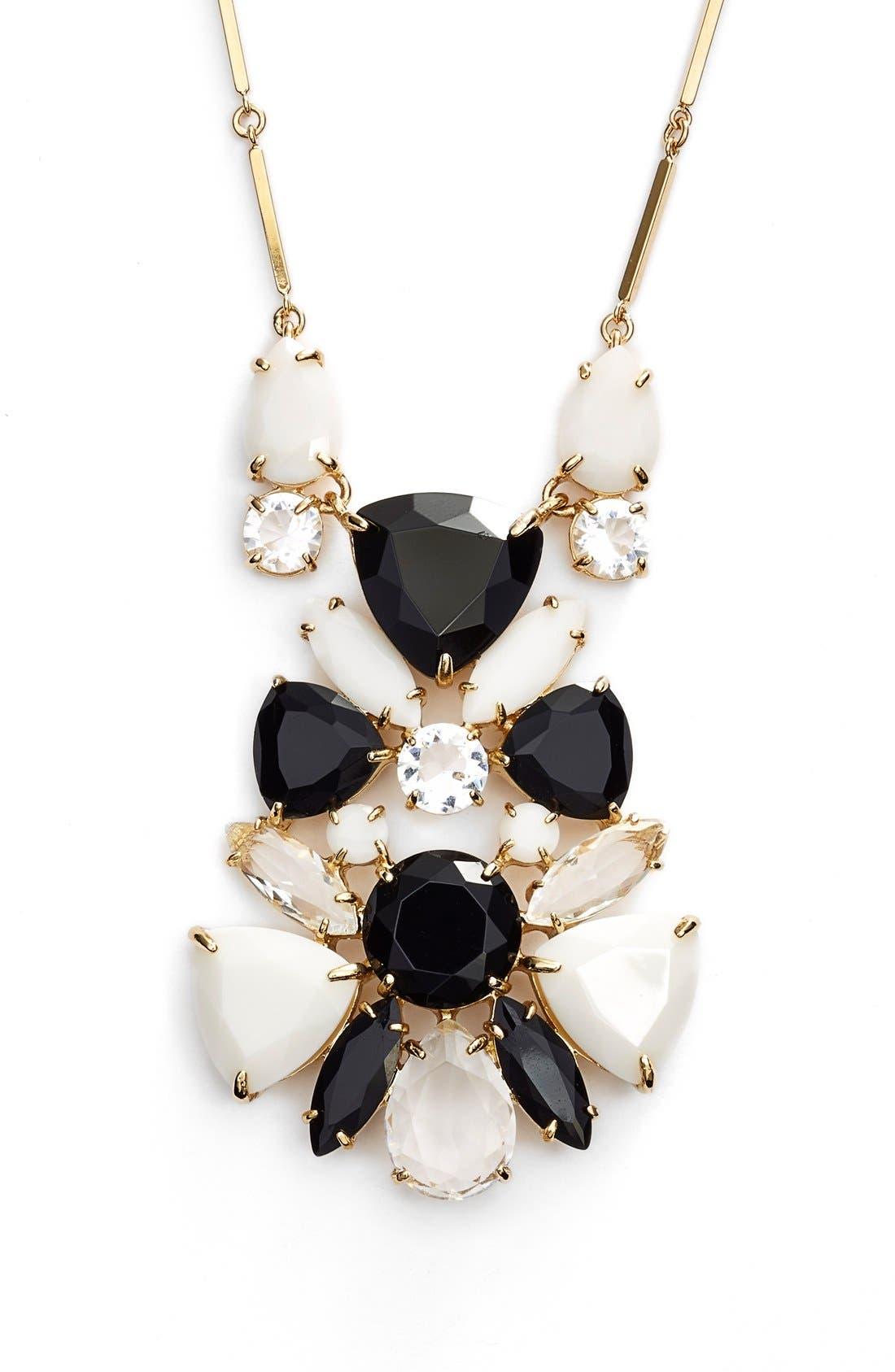 Alternate Image 1 Selected - kate spade new york 'twinkle lights' cluster pendant necklace
