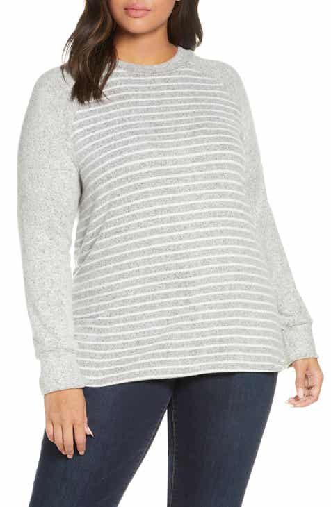 Loveappella Raglan Sweater (Plus Size)