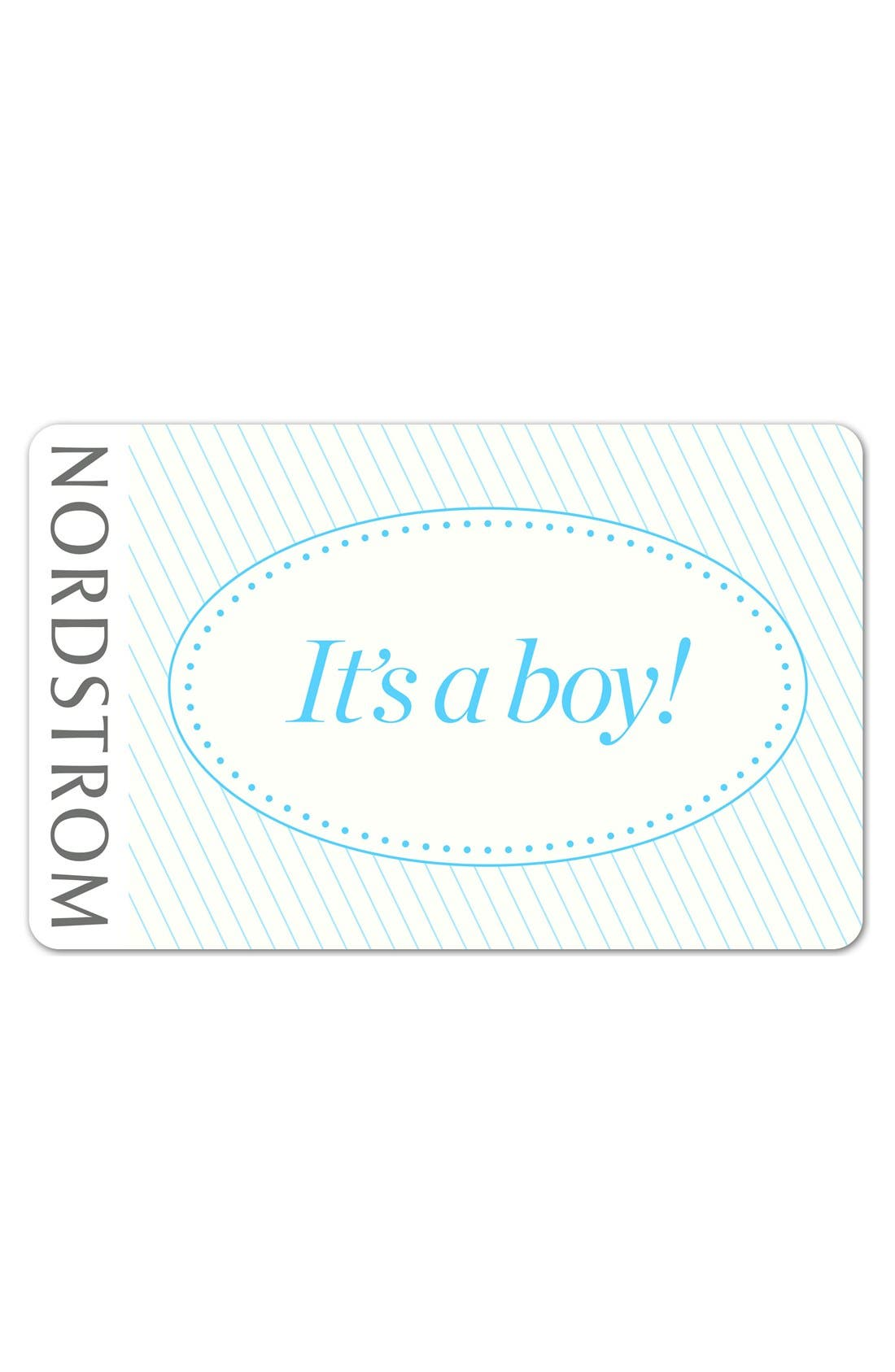 Alternate Image 1 Selected - Nordstrom 'It's a Boy!' e-Gift Card
