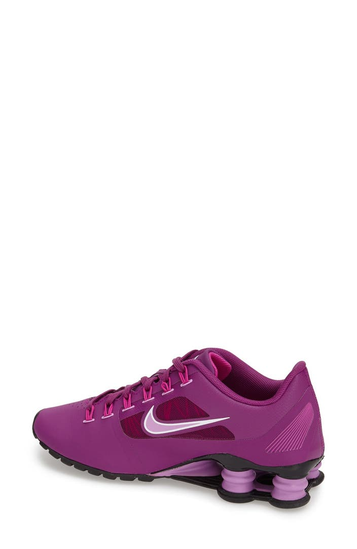 new style 440ea bd45d ... Nike Shox Superfly R4 Running Shoe (Women) Nordstrom .