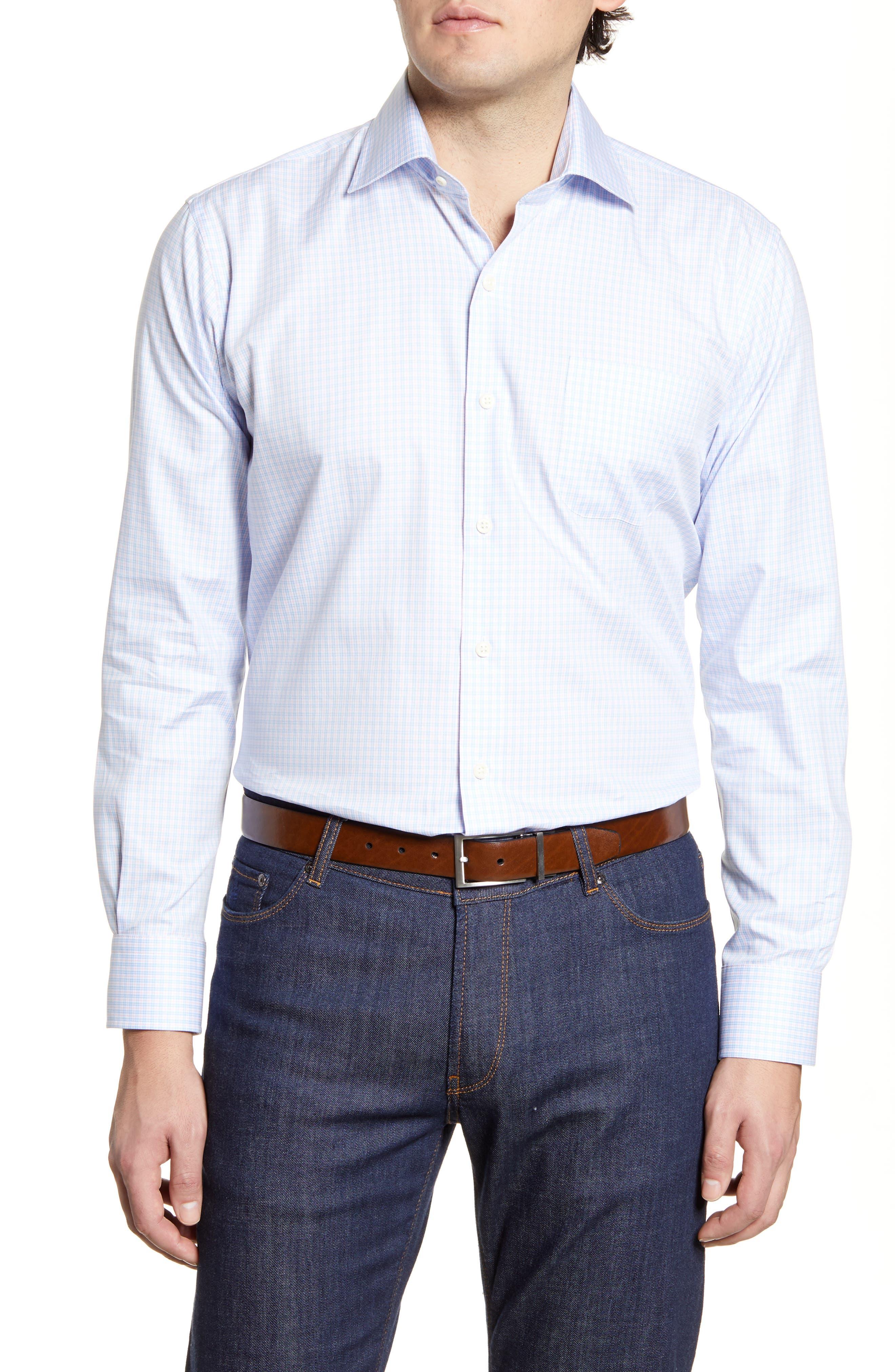 Club Room Mens Newton Button Up Shirt