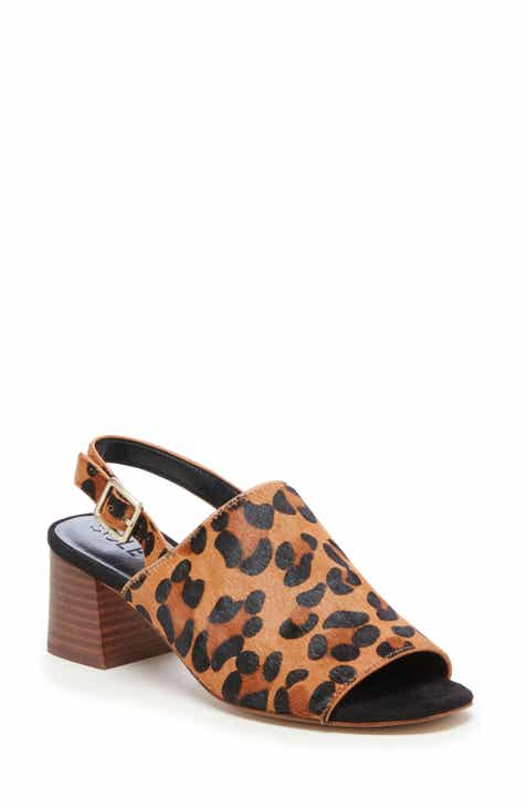 Sole Society Shawde Genuine Calf Hair Slingback Sandal (Women)