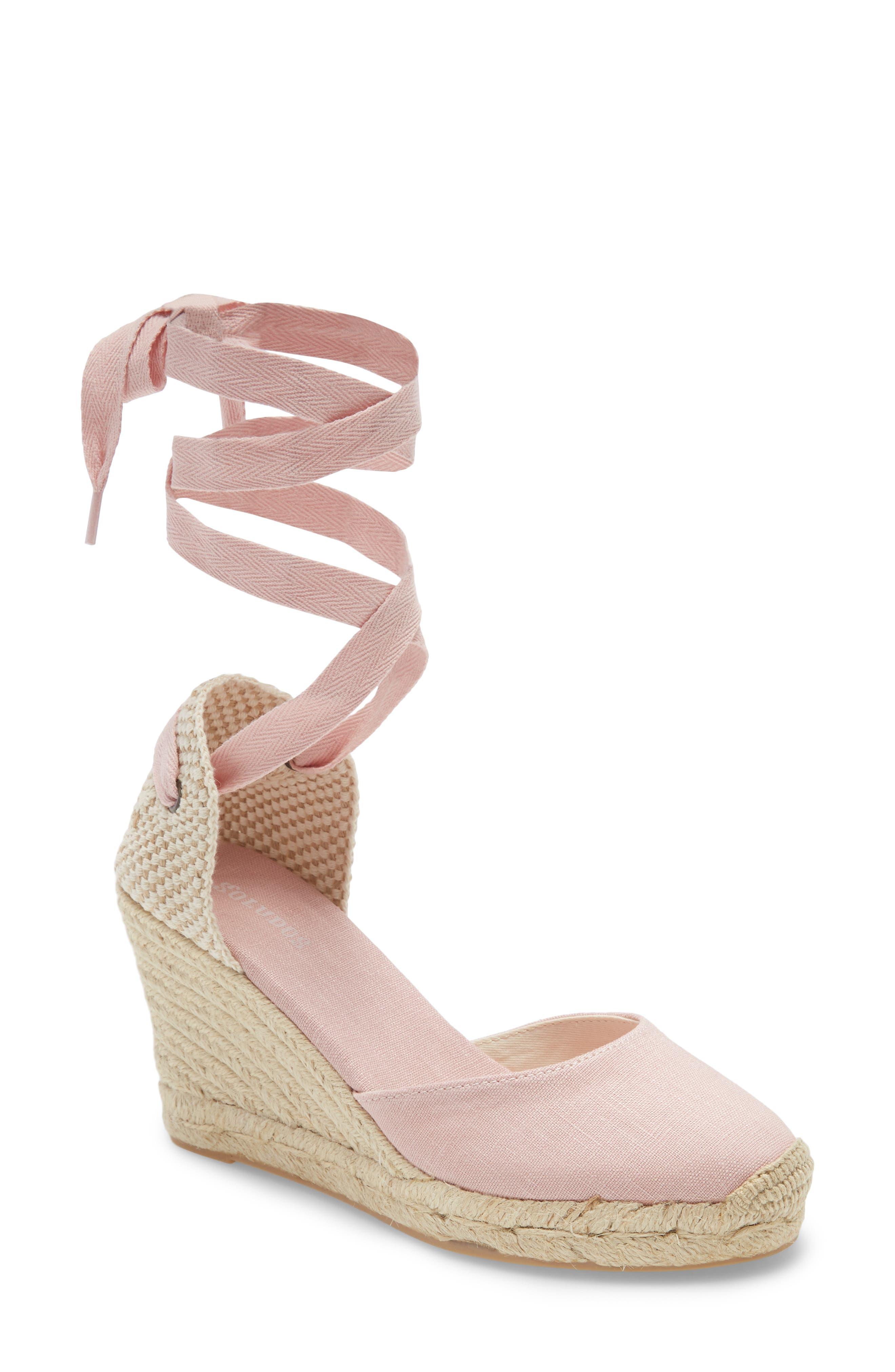 Women's Pink Espadrille Sandals   Nordstrom