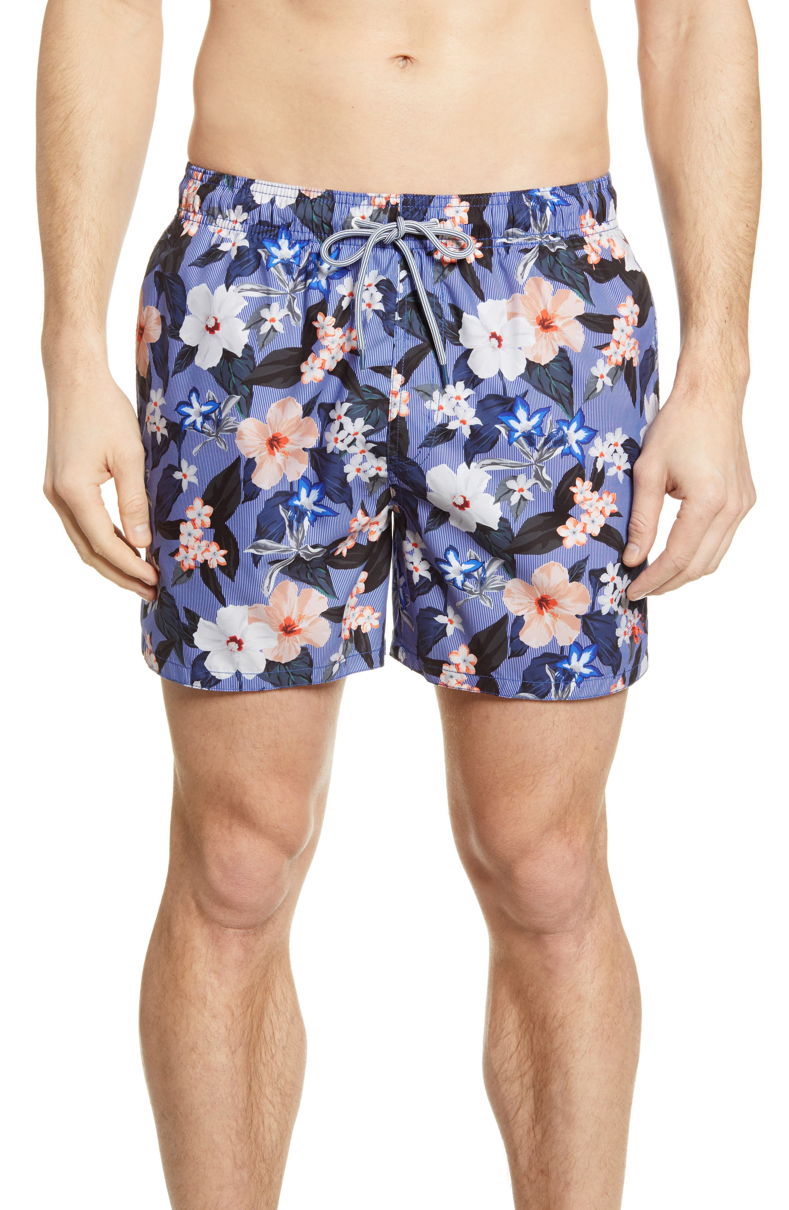 Ted Baker Safari Print Men/'s Swim Shorts,Navy