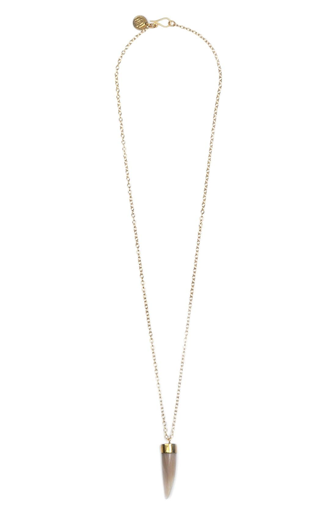 Alternate Image 1 Selected - Soko Capped Talon Pendant Necklace