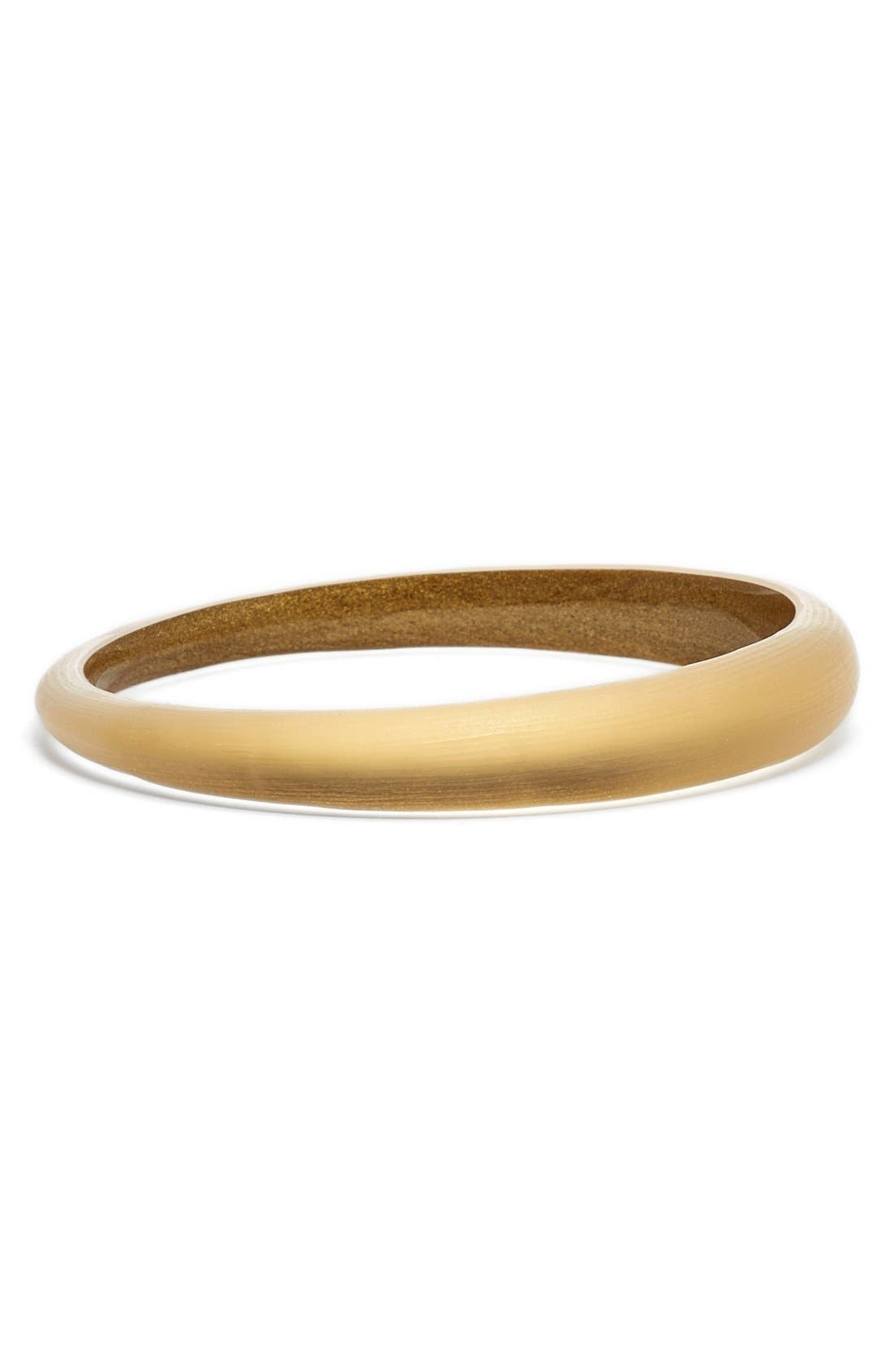 ALEXIS BITTAR 'LUCITE' SKINNY TAPERED BANGLE
