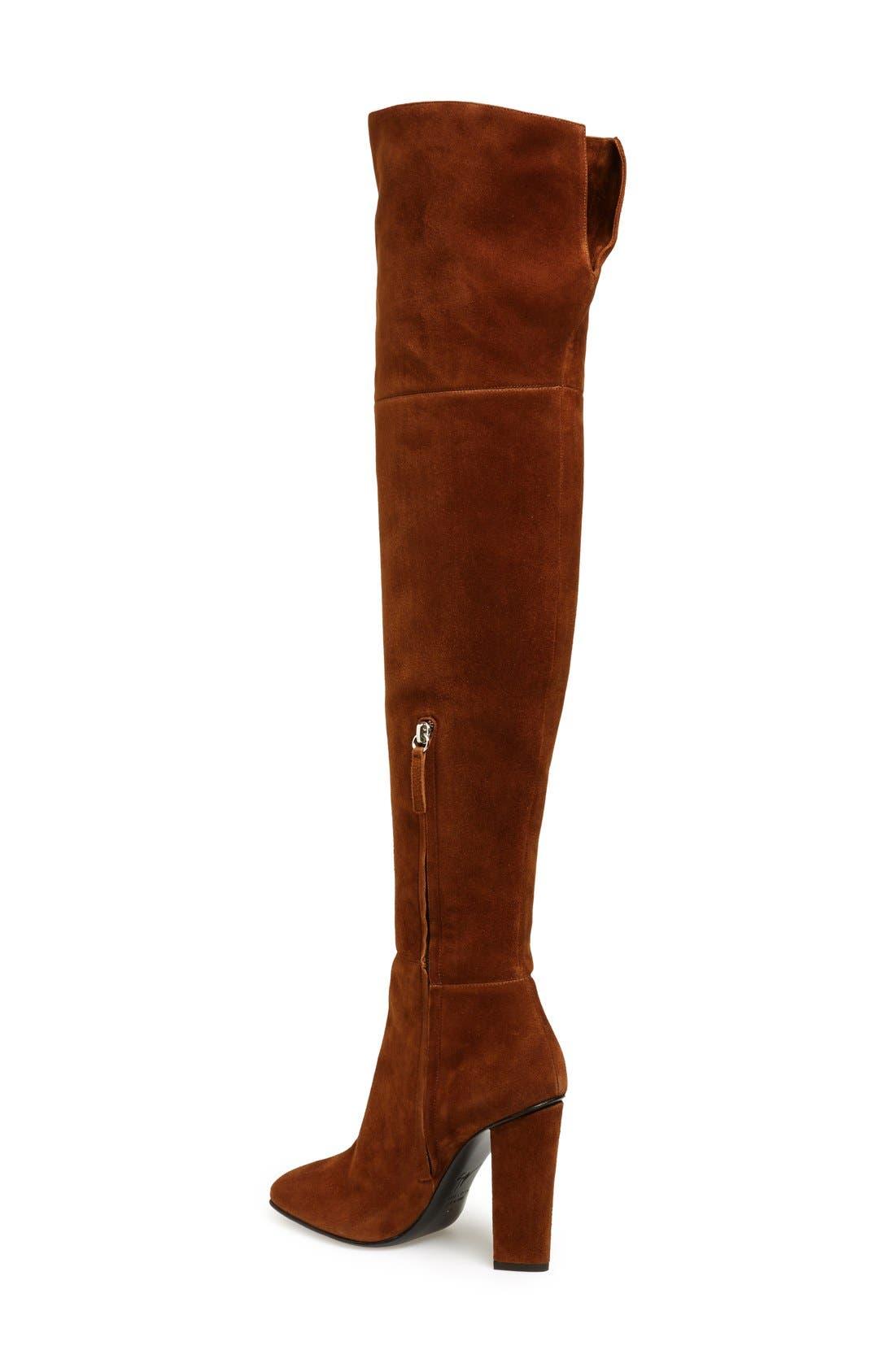 Alternate Image 2  - Giuseppe Zanotti 'Alabama' Over the Knee Boot (Women)