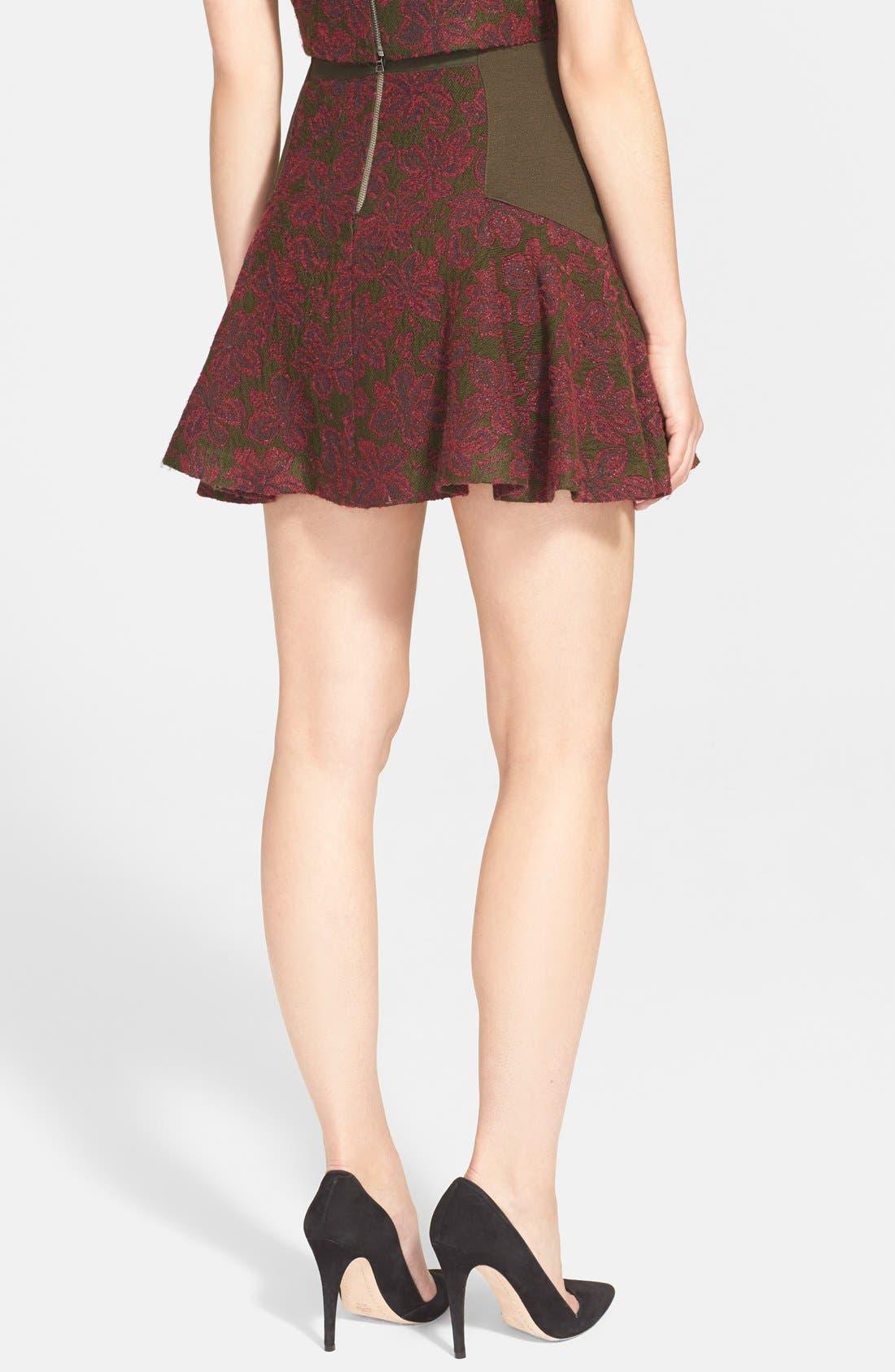 Alternate Image 2  - Alice + Olivia 'Elsie' Fit & Flare Skirt