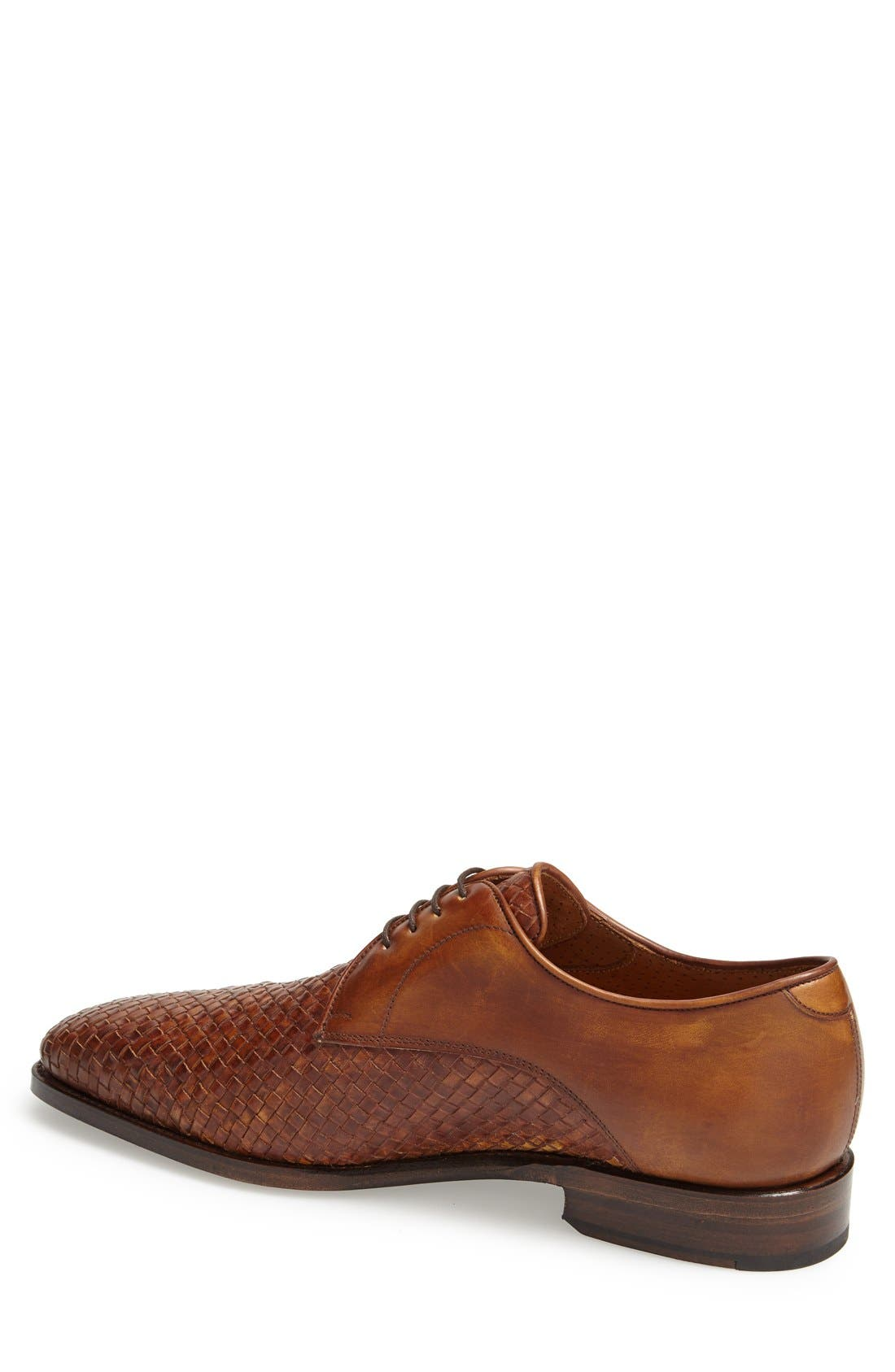 'Savannah' Woven Derby,                             Alternate thumbnail 2, color,                             Brown