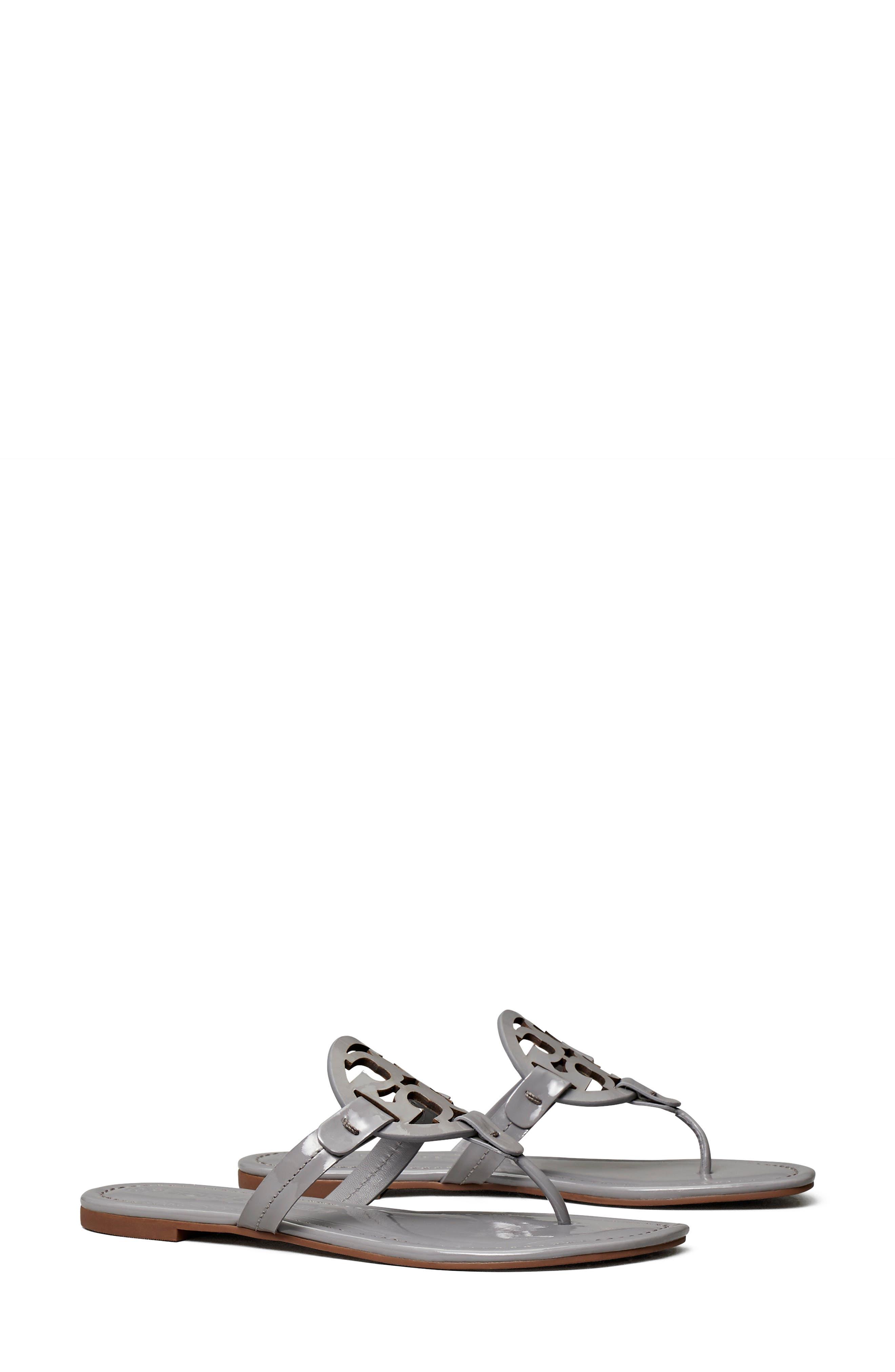 Women's Grey Sandals and Flip-Flops