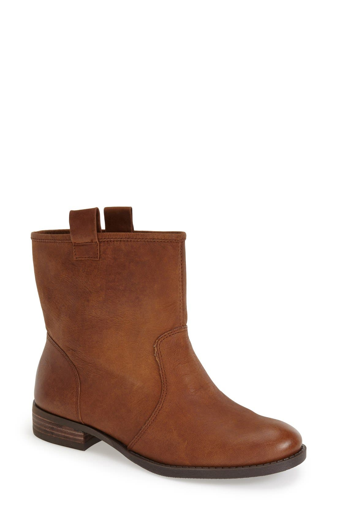 'Natasha' Boot,                             Main thumbnail 1, color,                             Vintage Cognac Leather