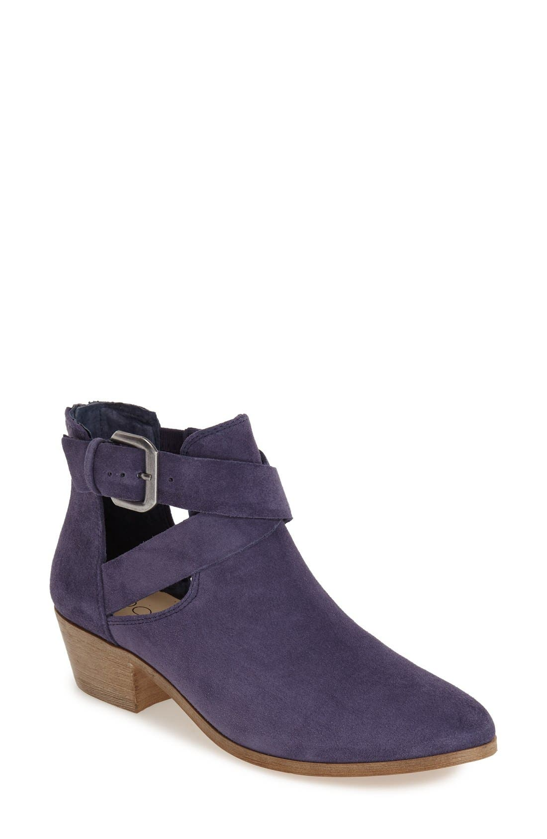 Main Image - Sole Society 'Evie' Open Side Bootie (Women)