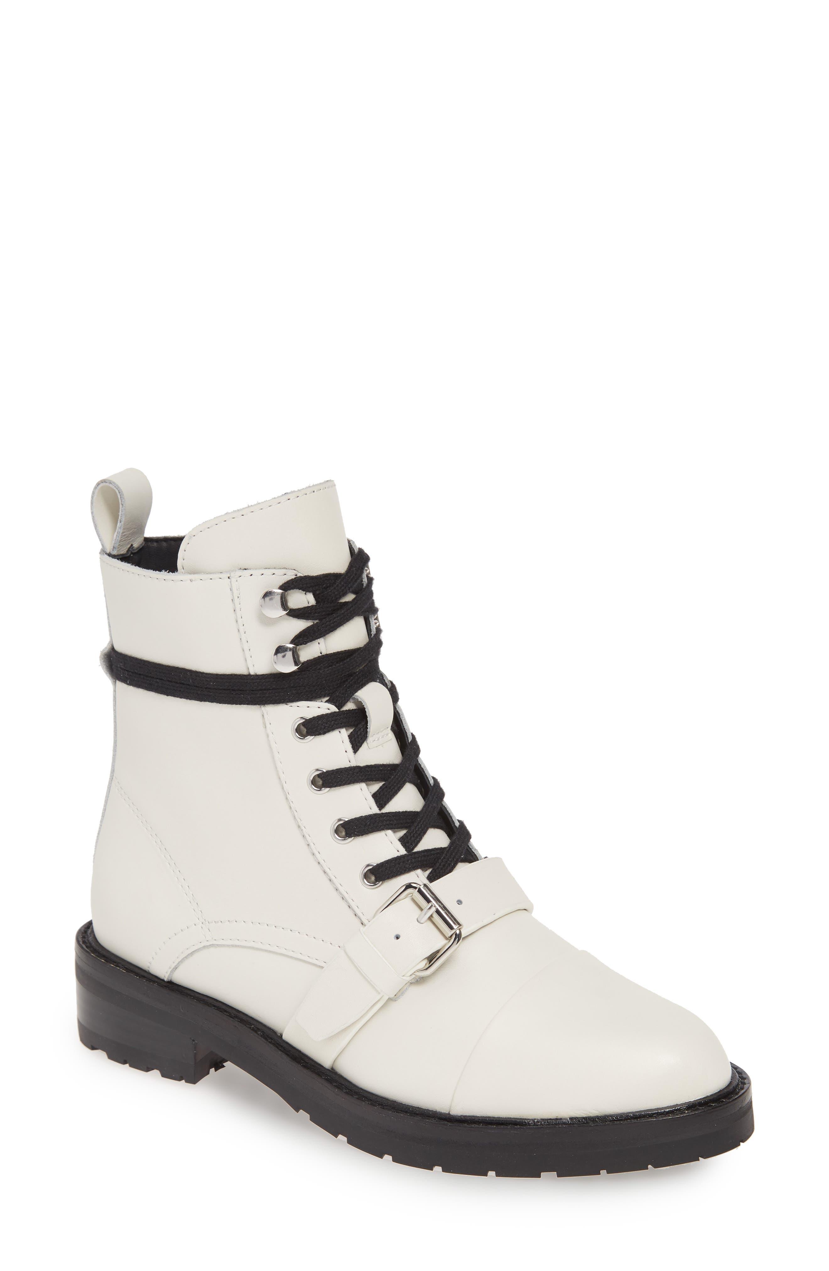 Women's White Combat Boots | Nordstrom