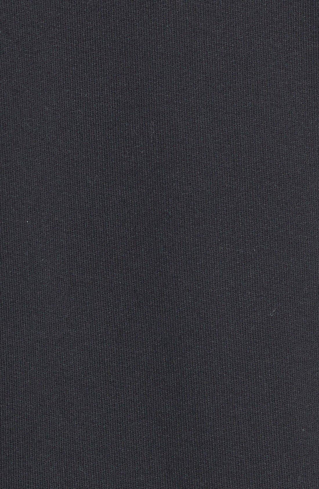 Alternate Image 3  - Caslon® Mixed Knit Bomber Jacket