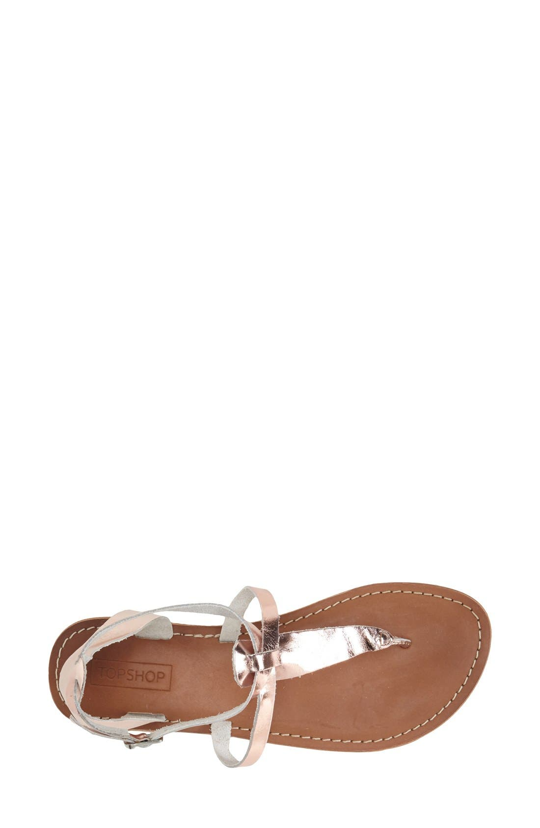 Alternate Image 2  - Topshop 'Horizon' Leather Sandal