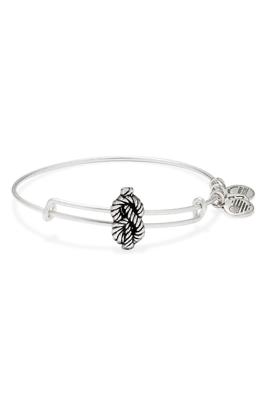 Alternate Image 1 Selected - Alex and Ani Expandable Sailor's Knot Bangle