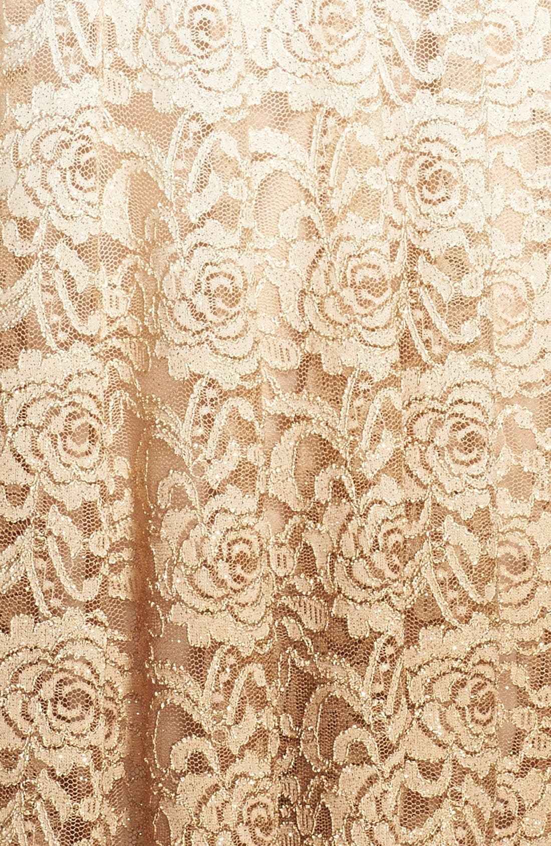 Alternate Image 4  - Chetta B Ombré Lace Fit & Flare Dress