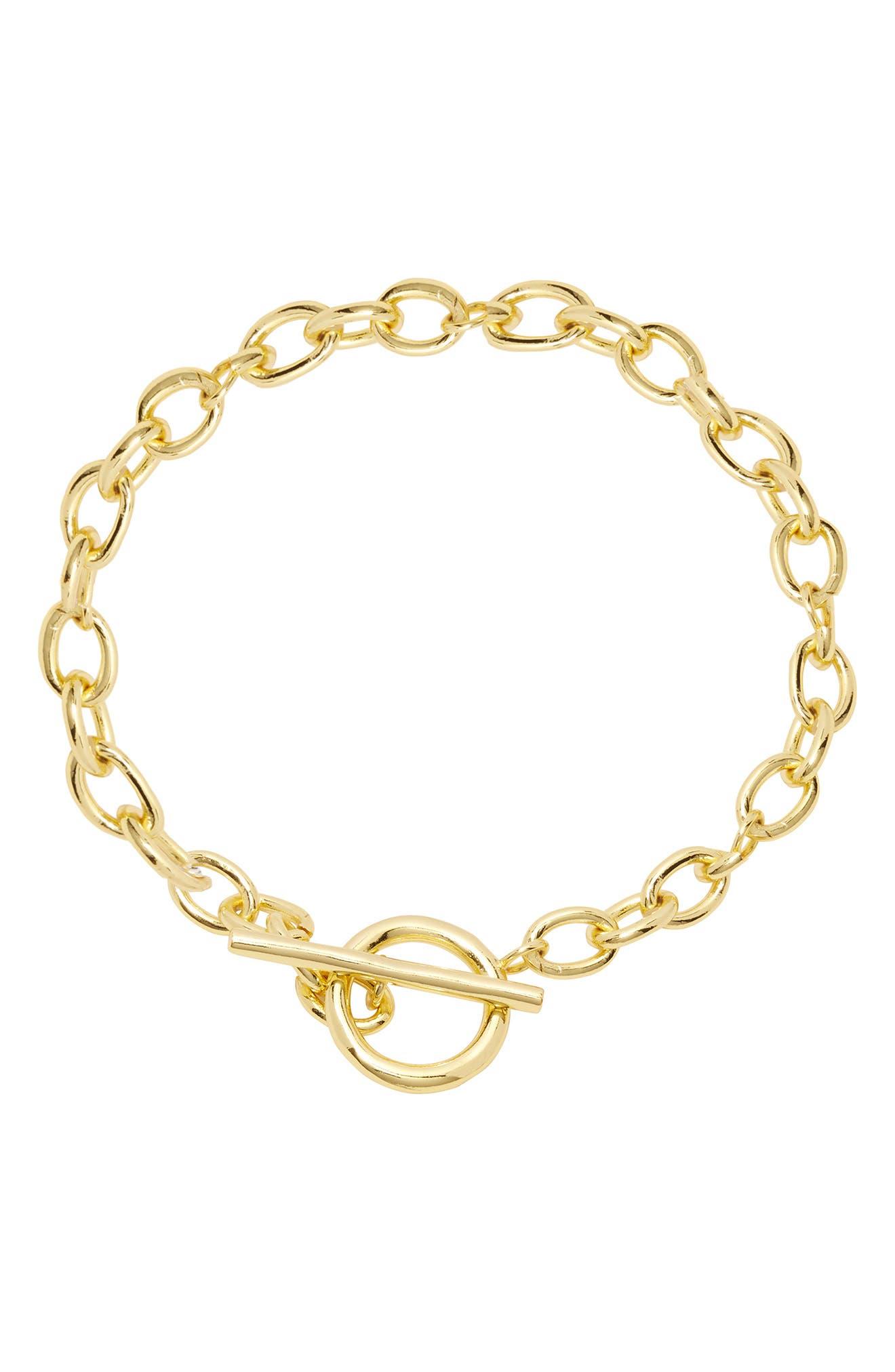 Women Fashion Boot Chains Bracelet Gold Metal Shoe Charm Chunky Textured Links