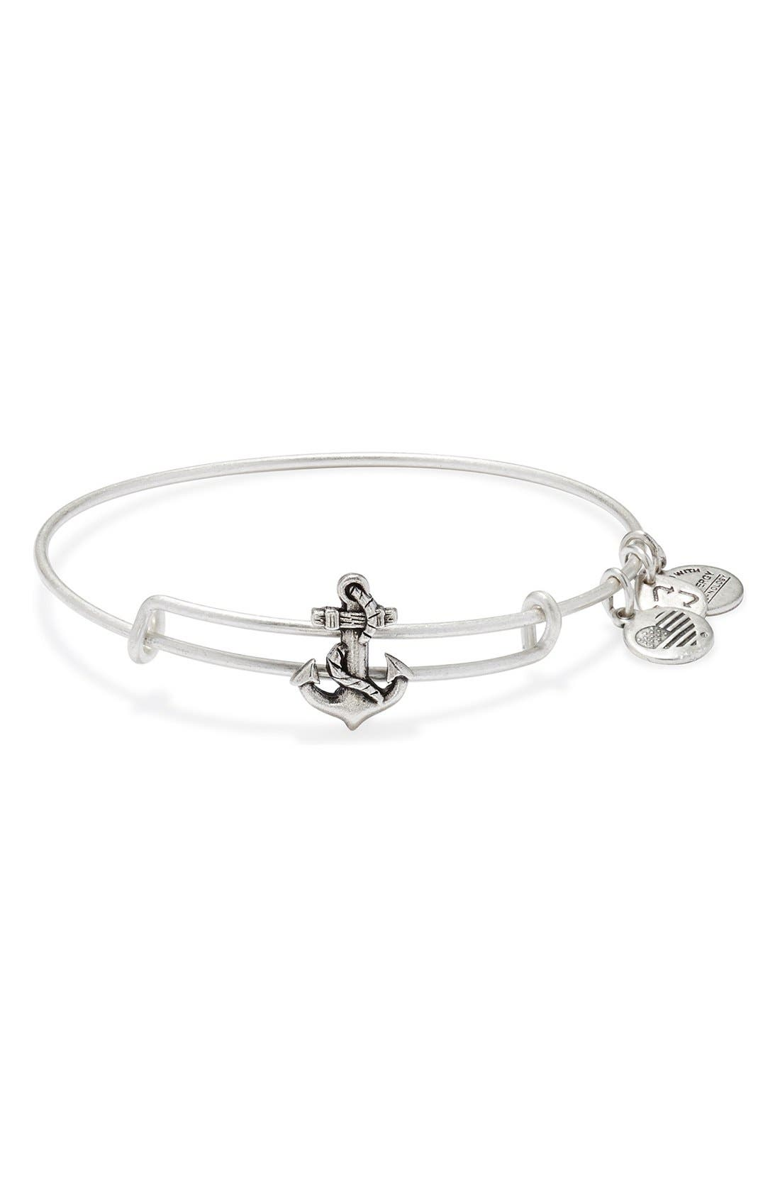 Main Image - Alex and Ani Expandable Anchor Bangle