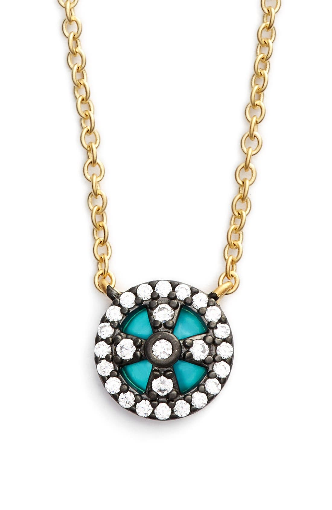 Alternate Image 1 Selected - FREIDA ROTHMAN 'Metropolitan' Small Pendant Necklace