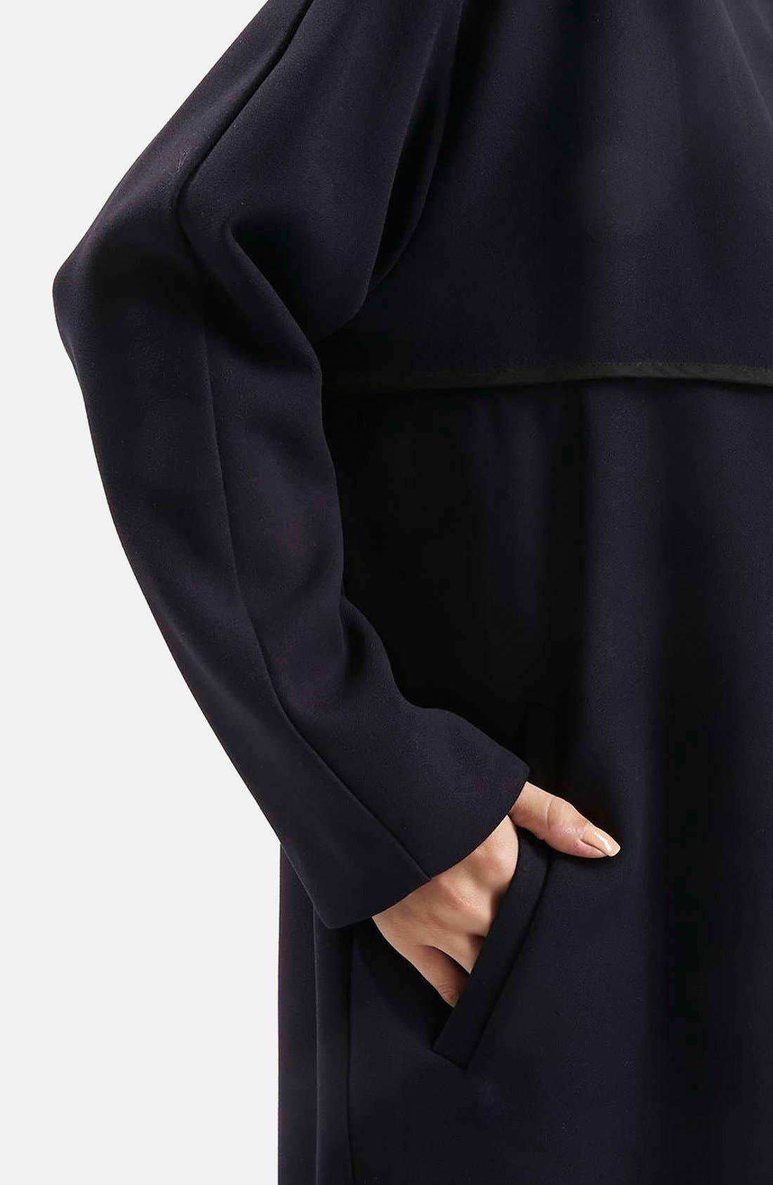 Alternate Image 4  - Topshop 'Edge to Edge' Blanket Coat