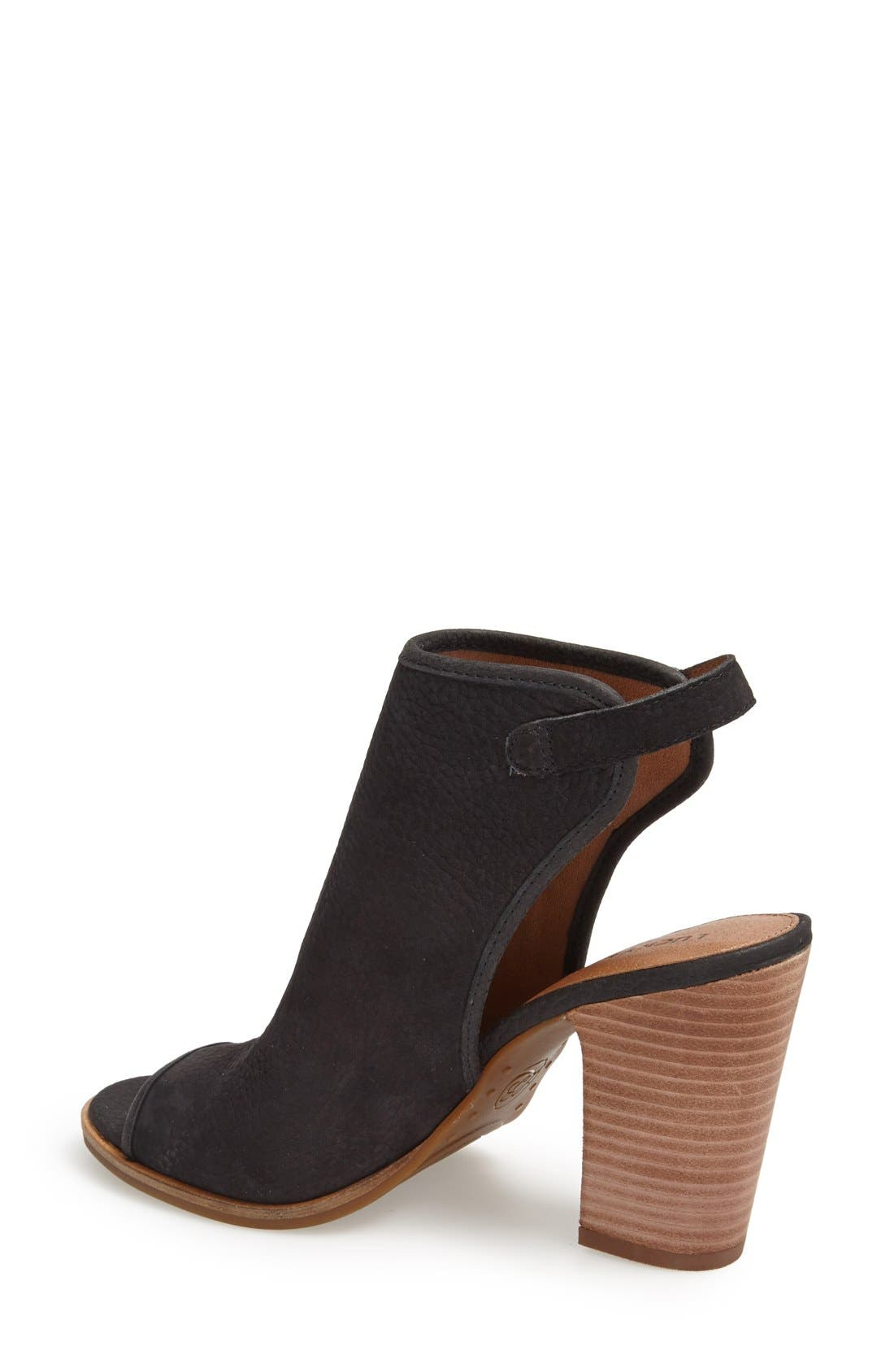 Alternate Image 2  - Lucky Brand 'Lisza' Open Toe Bootie (Women)