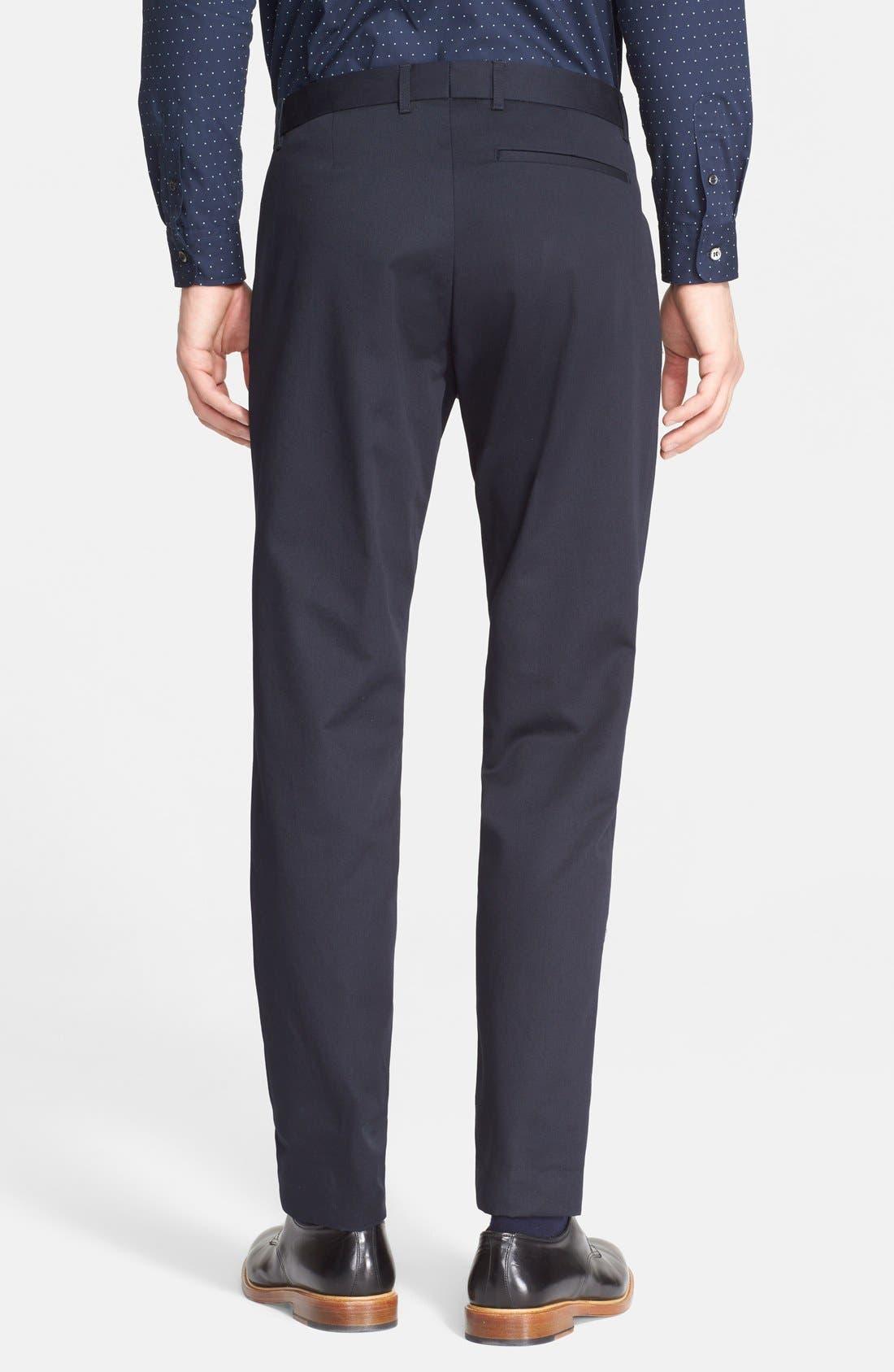 Alternate Image 2  - A.P.C. Pleated Cotton Pants