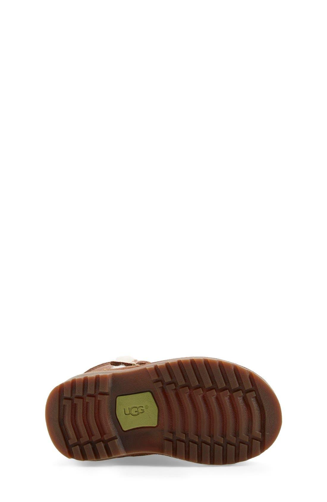Alternate Image 4  - UGG® 'Holmes' Boot (Walker & Toddler)