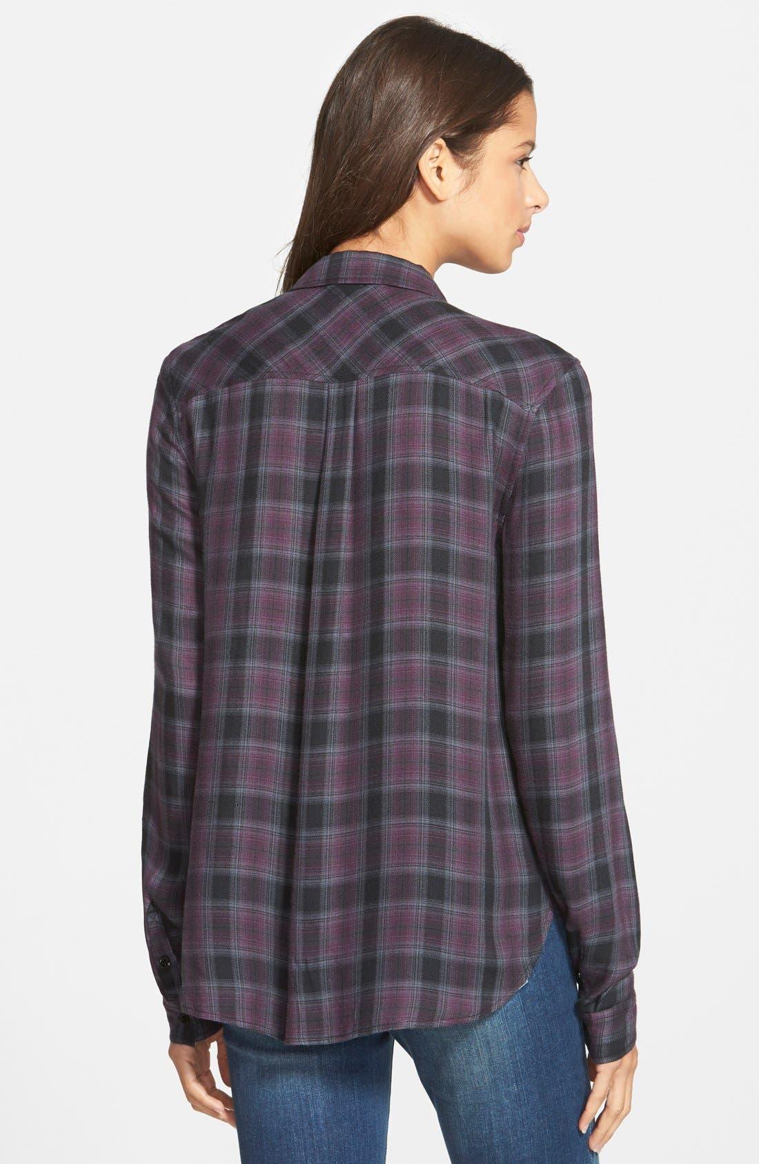 Alternate Image 2  - Paige Denim 'Mya' Plaid Shirt