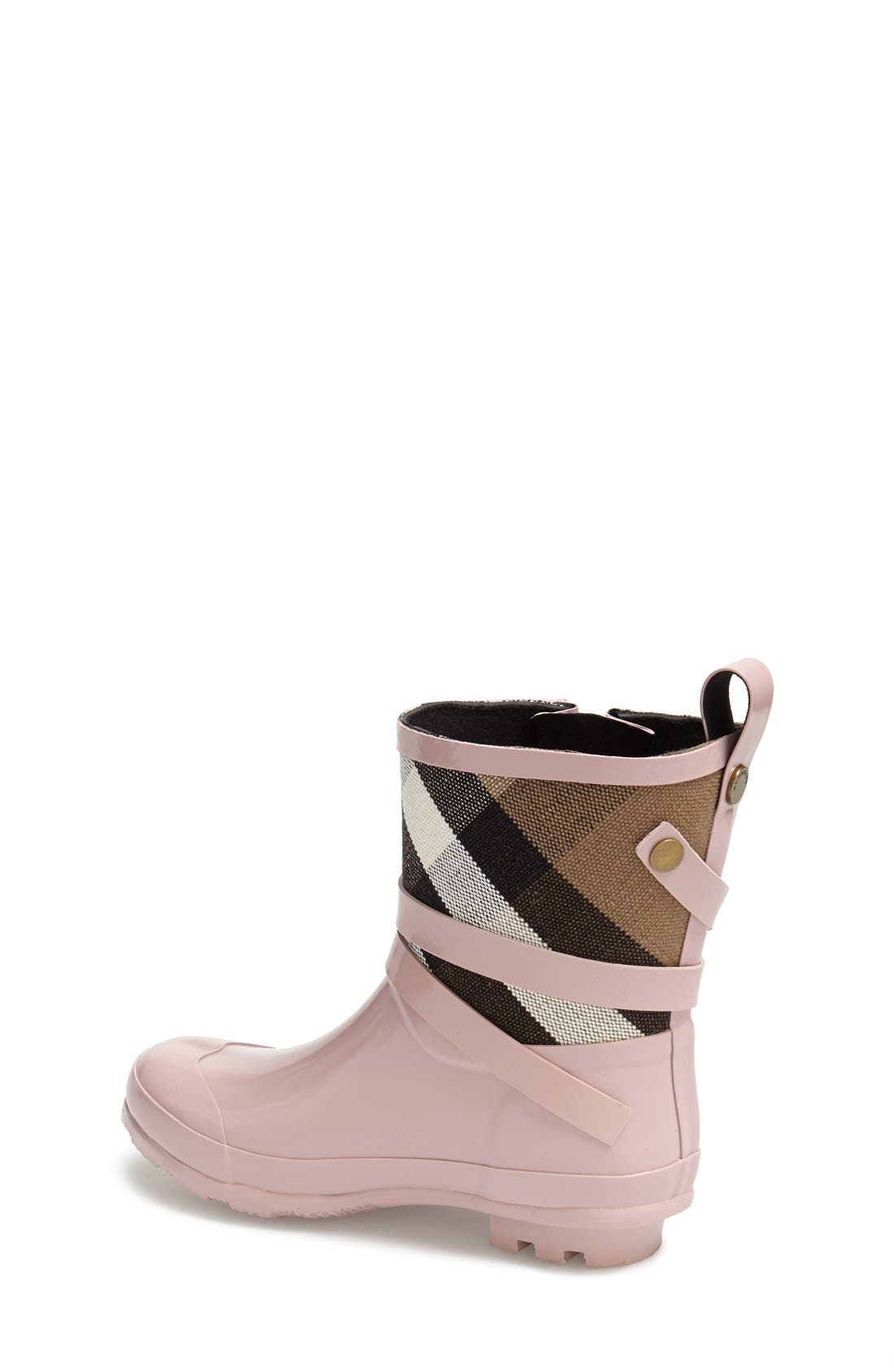 Alternate Image 2  - Burberry 'Holloway' Rain Boot (Toddler & Little Kid)