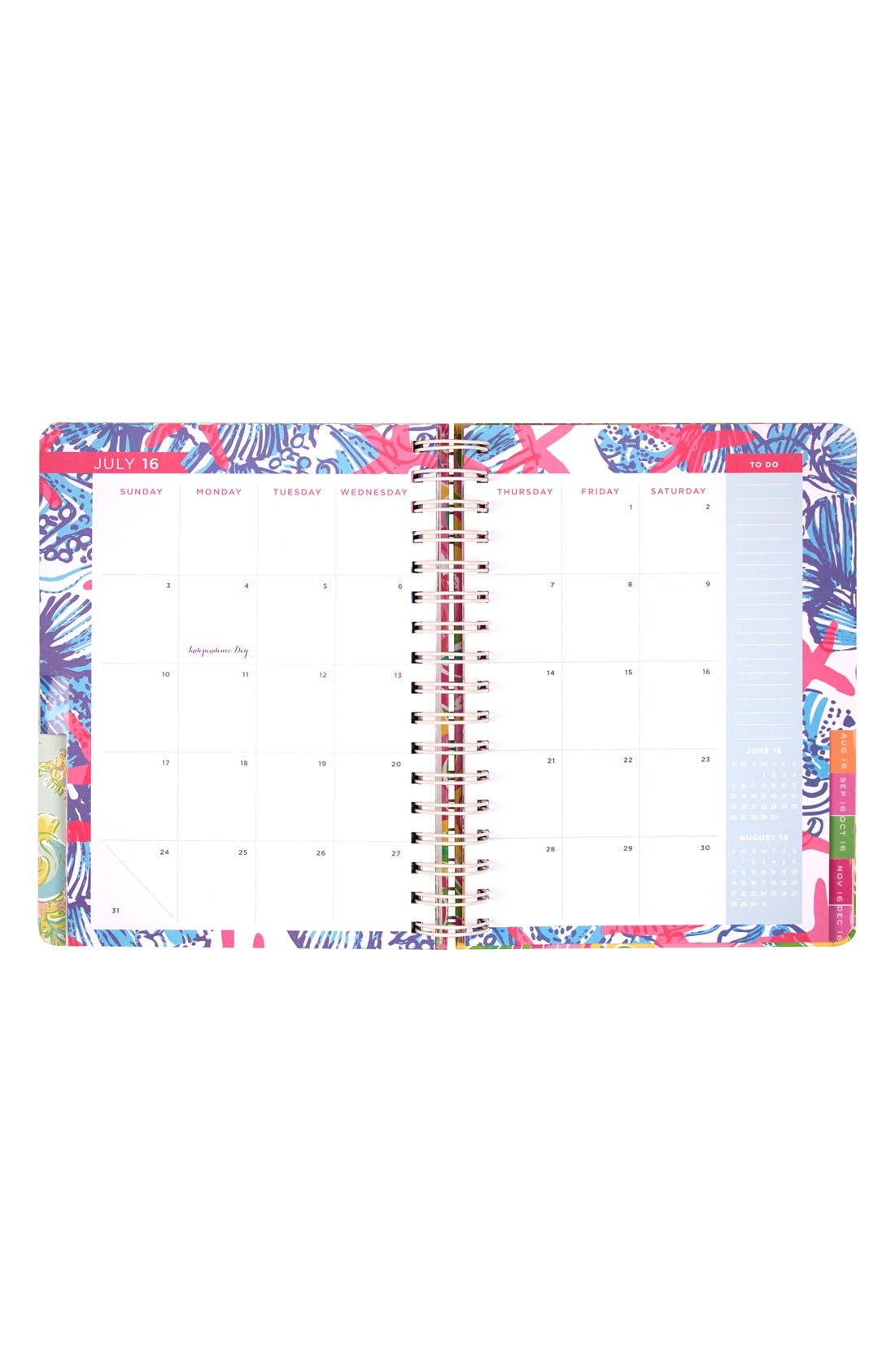 Alternate Image 2  - Lilly Pulitzer® Large 17-Month Planner