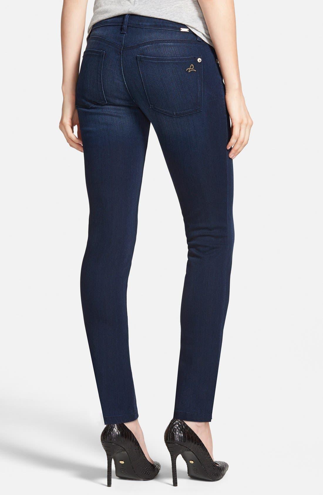 Alternate Image 2  - DL1961 'Emma' Power Legging Jeans (Berlin)